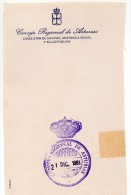 Papel Con Matasello Consejo Regional De Asturias - Postage Free