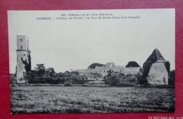 44 - CHEMERE : Château De Princé -la Tour De Barbe-Bleue Et La Chapelle - France