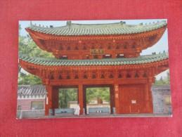 Korea, Seoul---Chang Kyung Wun Park Entrance  Reference 1676 - Korea, South