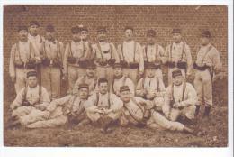 Carte-photo Valenciennes (59) - Militaires En 1912. Bon état, Correspondance Au Dos Avec Localisation. - Valenciennes