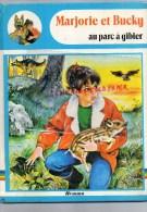 LIVRE  MARJORIE ET BUCKY- AU PARC A GIBIER- 1984-ILLUSTRATEUR  PIERRE COURONNE- JOELLE BARNABE-DAUVISTER - Livres, BD, Revues