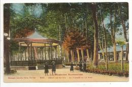 09 - USSAT-les-BAINS - Le Kiosque Et Le Parc - Ed. Labouche N° 332 Colorisée - 1946 - France