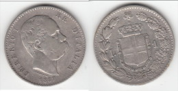 **** ITALIE - ITALIA - 1 LIRA 1887 M UMBERTO I - ARGENT - SILVER **** EN ACHAT IMMEDIAT !!! - 1861-1946 : Kingdom