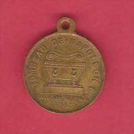 FRANCE   1853 BRONZE MEDAL DEDICATION OF NAPOLEON I  TOMB - Frankreich