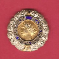 FRANCE   1870 MEDAL MILITARY VALOUR & DISCIPLINE - France