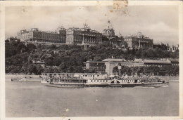 R58065- BUDAPEST- ROYAL PALACE, SHIP - Hongrie