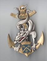 INSIGNE  16° BCS  BATAILLON DE COMMANDEMENT ET SERVICES - DRAGO PARIS G 2675 - Heer