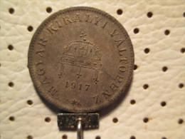 HUNGARY 20 Filler  1917 KB - Hungary