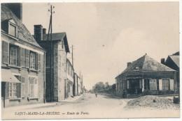 SAINT MARS LA BRIERE - Route De Paris - Autres Communes