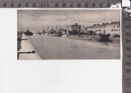 CO-1421 FIUMICINO IL CANALE DI TRAIANO BARCHE PESCHERECCI NAVI - Trade Cards