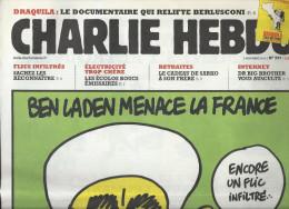 CHARLIE HEBDO   3 Novembre 2010  N° 959  Couverture De CHARB NEUF - Humour