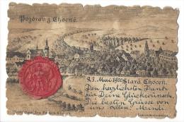 11368 -  Stara Chocen Chotzen Pozdrav Z Ckocné - Tchéquie