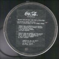 COCA-COLA . LAMPE EN FORME DE CANETTE . - Coca-Cola