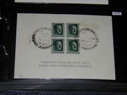 Germany (Third Reich)  - 1937 Adolf Hitler Block Used__(FIL-10198) - Deutschland