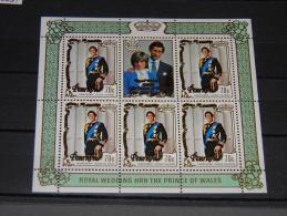 Penrhyn - 1981 Charles & Diana 70c Kleinbogen MNH__(TH-13337) - Penrhyn