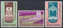 Indonesia Zonnebloem Cat Nr 587/9 Postfris (MNH, Neuf Sans Charniere) - Indonésie