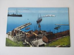 AK 1913 Österreich / Montenegro. Porto Di Castelnuovo. Purger & Co, München - Montenegro