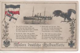 Nr. 3358,  AK  Unsere Deutsche Heldenflotte, S.M.S. Iltis - Krieg
