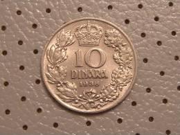 YUGOSLAVIA KINGDOM Of 10 DINARA 1938 - Yugoslavia