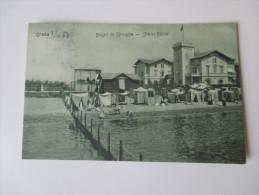 AK 1908 Österreich / Italien Grado. Bagni Di Spiaggia - Strand Bäder. - Italy