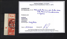 Kontrollrat,945 Mit DZ ,o,Befund Schlegel  (8032) - Gemeinschaftsausgaben