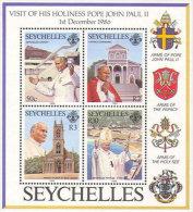 VISITA VIAGGIO PAPA GIOVANNI PAOLO II Nelle Seychelles - Seychelles (1976-...)