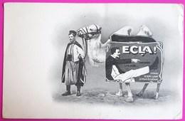 Cpa Publicité Cirage Ecla Donne Le Brillant Le Plus Eclatant Carte Postale Non Ecrite Vers 1910 - Pubblicitari