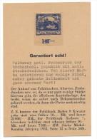 11382 - Seltener Amtl. Probedruck Der Tschechosl. Republik Mit Amtl. Stecherzeichen - Essais & Réimpressions