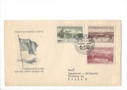 11383 -  Ceskoslovenska Posta Rekreace ROH Radostny Oddech Pracujicich Praha 05.05.1951 - FDC