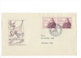 11384 -  Ceskoslovenska Posta Stéfan Moyses 19.10.1947 - FDC