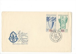 11385 -  Ceskoslovenska Posta Svétova Vystava Brusel 25.03.1958 - FDC