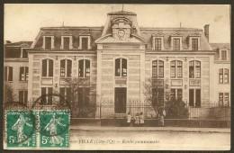IS SUR TILLE Ecole Communale (Breger) C�te d�Or (21)