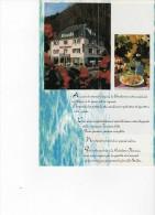 Hotel Résidence  Florence  Le Bonhomme   Lapoutroie  2 Scans - Folletos Turísticos