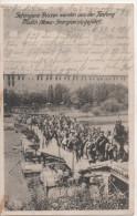 Nr. 3349,  Feldpost, Gefangene Russen Werden Aus Der Festung Modlin, Nowo-Georgiewsk Geführt - Guerre 1914-18