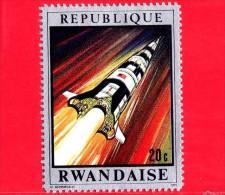 RWANDA  - 1970 - Navicelle spaziali - Viaggi nello spazio - Apollo 13 - 20