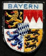 Patch Écusson Tissu Touristique : Allemagne - Bavière - Bayern - Blason Province - Stoffabzeichen