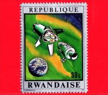 RWANDA  - 1970 - Navicelle spaziali - Viaggi nello spazio - Seconda fase di separazione - 30