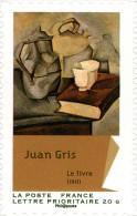 YTA705 FRANCE An.2012 Autoadhésif Art : Juan Gris Juan - Le Livre - Francia