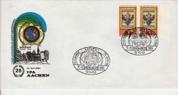 """Brief Mit Sonderstempel """"25 Jahr I.P.A. Aachen""""-8 - Polizia – Gendarmeria"""