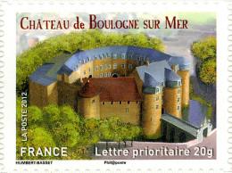 YTA716 FRANCE An.2012 Autoadhésif Château De Boulogne Sur Mer (Nord-Pas-de-Calais) - Francia