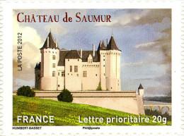 YTA717 FRANCE An.2012 Autoadhésif Château De Saumur (Pays De La Loire) - Francia