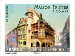 YTA724 FRANCE An.2012 Autoadhésif Maison Pfister à Colmar (Alsace) - Francia
