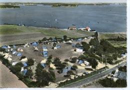 """Locmariaquer : Camping Locker & Vue Générale Sur Le Golfe """"en Avion Au Dessus De... N°9 éd Lapie Dentelée - Locmariaquer"""