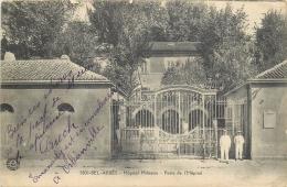 ALG    1036    CPA  SIDI BEL ABBES  Hopital Militaire Porte De L'hopital       Belle Carte - Sidi-bel-Abbès