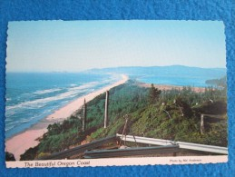 Beautiful Oregon Coast. A Panoramic View Overlooking Cape Lookout State Park Toward Netarts....Photo By Mel Anderson - Non Classés