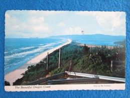 A Panoramic View Overlooking Cape Lookout State Park Toward Netarts And Oceanside. Photo By Mel Anderson. Voyage 1983 - Non Classés