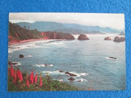Scenic Oregon Coastline. Ever Magnificent, The Variety Of Views On The Oregon Coast Thrills Every Traveler. - Non Classés