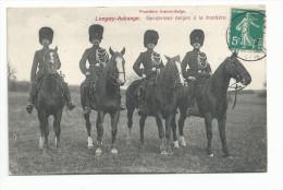 LONGWY AUBANGE (54) Gendarmes Belges à La Frontière - Longwy