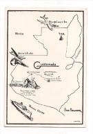 CARTE CIRCUIT AVION NEW-ORLEANS ..... SAN SALVADOR  En Passant Par GUATEMALA ..... JORDAN TOURS - - Flugwesen