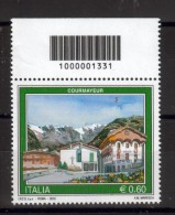 BELLISSIMO FRANCOBOLLO ITALIA REPUBBLICA NUOVO CODICE A BARRE 2010 174 - Códigos De Barras
